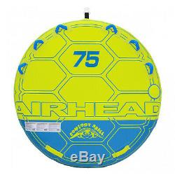 Airhead-75 Comfort Cssa Shell Plate-forme D'eau Tube 75in. Gonflable Tractable 3 Riders