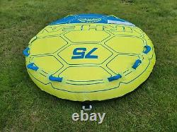 Airhead 75 Deck Shell 3 Rider Gonfleable Boating Lake Water Tube