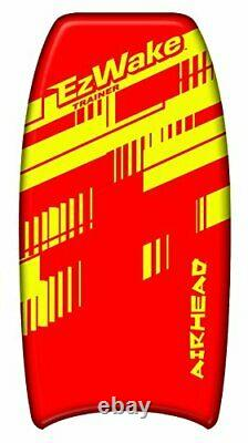 Airhead Ahez-300 Ez Wake Trainer Gonflable Towable Wakeboard Water Tube 1 Rider
