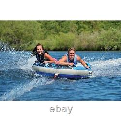 Airhead Ahgf-2 G-force 2 Towable 2 Rider Inflatable Water Boat Tube Toy
