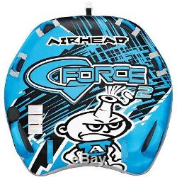 Airhead Ahgf-2 G-force 2 Tractable 2 Rider Gonflable Bateau Tube Jouet