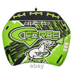 Airhead Ahgf-4 G-force 4 Tube D'eau Gonflable Remorquable 4 Riders Kwik Connect