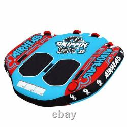 Airhead Ahgr-02 2 Personne Inflatable Winged Water Boating Towable Tube 2 Pack