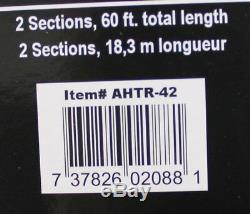 Airhead Ahm2-2 Tube Remorquable De L'eau De Cavalier 2 De Conducteur 2 Gonflable Avec La Corde De Remorquage De 50-60 '