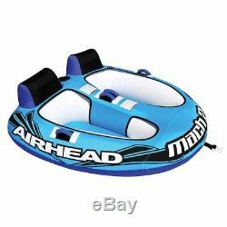 Airhead Ahm2-2 Tube Tractable Gonflable Pour Eau De Lac Du Cockpit Du Coureur 2