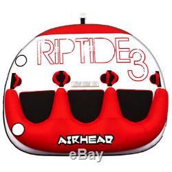 Airhead Ahrt-13 Riptide 3 Eau Pour Bateaux Tube 3 Riders Gonflable Tractable