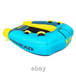 Airhead Ahsl-32 Slash Gonflable Double Rider Towable Water Boat Tube Toy