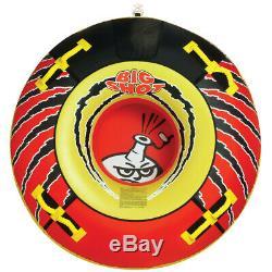 Airhead Big Shot 4 Rider Tractable Eau Tube Gonflable Bateau Lac De Remorquage Personne 76