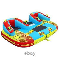 Airhead Challenger Gonfleable Remorquage Water Sports Lake Tube (boîte Ouverte)