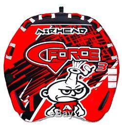 Airhead G Force Gonflable Tractable 3 Ahgf Tube Nouvelle Eau Triple Rider Sport