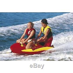 Airhead Hd-2 Double Dog 2 Personne Towable Tube Gonflable Bateau Tube