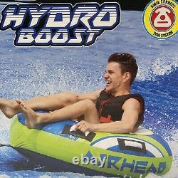 Airhead Hydro-boost 54 Tube De Remorquage Float D'eau Raft Fun 1 Personne Rider