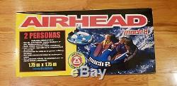 Airhead Kwik-tek Ahm2-2 Mach 2 Double Gonflable Tractable Eau Tube (2 Rider)