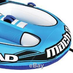 Airhead Mach 2 Gonflable 2 Rider Lac Cockpit Eau Towable Tube, Bleu (occasion)