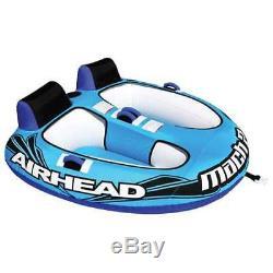 Airhead Mach Tube D'eau Tractable Lac Double Cockpit Gonflable Cavalier (boîte Ouverte)