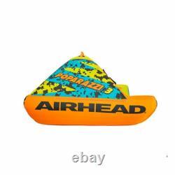 Airhead Poparazzi 3 Personne Gonflable De Poids Lourd Tube D'eau Remorquable En Pvc, Vert