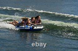 Airhead Super Slice Gonflable Triple Rider Towable Tube Water Raft Ahssl-32