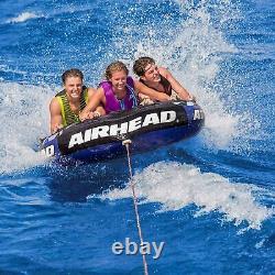 Airhead Super Slice Gonflable Triple Rider Tube Remorque Raft D'eau