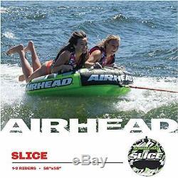 Airhead Tranche Gonflable Double Rider Tractable Lac Tube Eau Radeau Ahssl-22