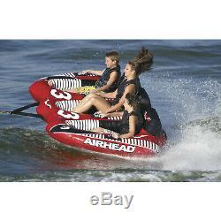 Airhead-f3 Ahvi Viper Triple 3 Rider Gonflable Tractable Eau Tube Bateau