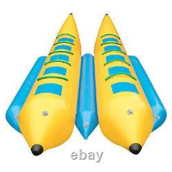 Bateau Gonflable Banana 10 Rider Tube D'eau Gonflable Towable Island Hopper Slead
