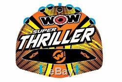 Bateau Gonflable De Tube De Plate-forme De L'eau De Conducteur De Thriller 1-3 De Wow Remorquable 18-1020