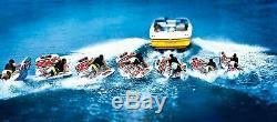 Bateau Tractable Tube Gonflable Eau Pont Sport Flotteur 2 Personne Wow Rider Durable