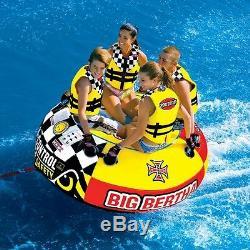Big Bertha 1-4 Rider Tubes À Eau / Tubes Tractables 4 Personnes 53-1329