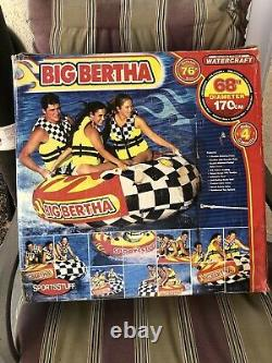 Big Bertha 1-4 Rider Water Tube / Tubes Towable 4 Personne 53-1329
