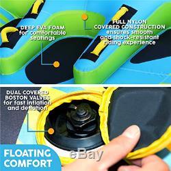 Big Planeur Gonflable Tractable Eau Tube 4 Bateau Lac Tube Plage Snow River