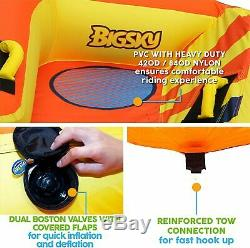 Big Sky Heat Wave Tube Gonflable Tractable Eau Pour 2 -roomy Nautique Durable
