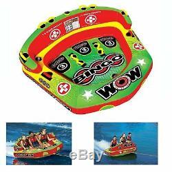 Bingo 1- 3 Riders Gonflable Tractable Sport Aquatique Tube Conçu Pour Family Fun