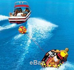 Booster Boule De Remorquage Pour Tractables Corde De Remorquage Tube Ski Bateau Flotteur Sport Aquatique Raft