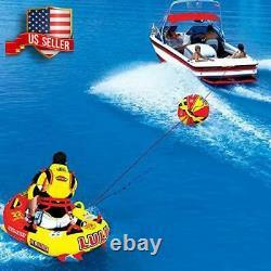 Boule D'appoint Pour Le Ski De Towables De Remorquage De Corde De Remorquage Float Water Sport Boat Raft Tubing Ski
