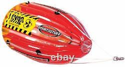 Canot Pneumatique Tube De Balle En Forme De Radeau D'eau Tubing Ski Boat Outdoor Sports