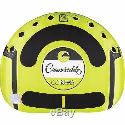 Ccb Connelly Convertible 4 Personne Grand Bateau Gonflable Tractable Eau Tube Intérieur