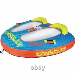 Ccb Connelly Double Trouble 2 Personne Bateau Gonflable Tractable Eau Tube Intérieur