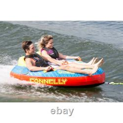 Ccb Connelly Double Trouble Inflatable Boat Towable Water Inner Tube (open Box)