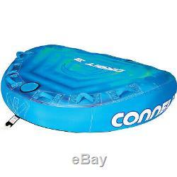 Ccb Connelly Orbit 3 Personne Soft Top Bateau Gonflable Tractable Eau Tube Intérieur