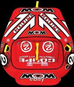 Cockpit Tube Remorquable Ski Nautique 2 Personnes Coupe Bateau Gonflable Sports Natation