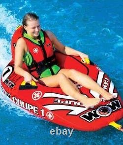 Cockpit Tube Towable Water Ski 1 Personne Coupé Inflatable Boat Water Sports Pool