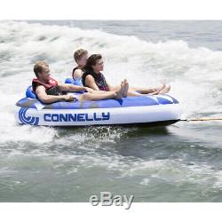 Connelly 67170006 Mega Wing Deluxe Gonflable Tractable Eau Tube Pour 3 Personnes