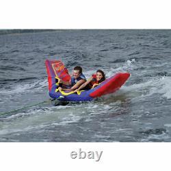 Full Throttle Speed Ray 2 Deux Personnes Gonflable Tube D'eau Raft De Bateau