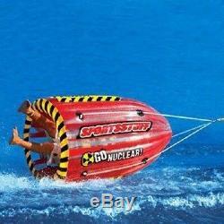 Gonflable 1 Personne Tractable Eau Ski Tube Flotation Gyro Eau Sports Gear