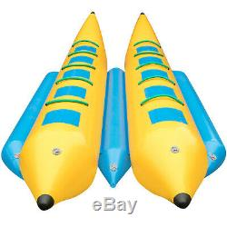 Gonflable Banana Boat 10 Rider Gonflable Tube Tractable Île Hopper Sled