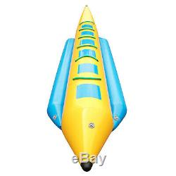 Gonflable Banana Boat 5/6/10 Rider Eau Tube Tractable Île Hopper Sled
