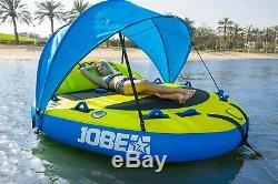 Grand 3 Personne Jobe Sea-esta Gonflable Tractable Artisanat / Eau Sport Tube / Toit Ouvrant