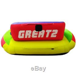 Grea2 Gonflable Tractable Tube Tube D'eau Pour Bateaux, Ski Tube, Tube Remorquable