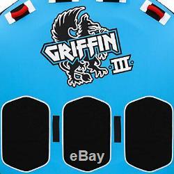 Griffin 3 Airhead Personne Gonflable En Forme Ailée Nautique Eau Towable Tube
