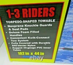 Hd-3 Airhead Gonflable Hot Dog Tractable Banana Boat Sport Aquatique Ski Tube